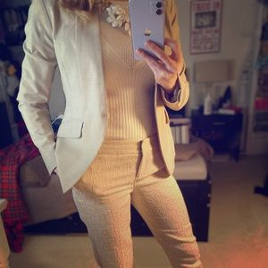 NY & Co cream blazer - 4
